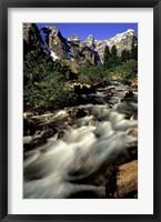 Framed Stunning Banff National Park, Alberta, Canada