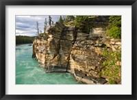 Framed Canada, Alberta, Jasper National Park, Athabasca River