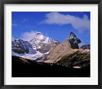 Framed Alberta, Mt Saskatchewan, Banff NP