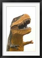 Framed World's Largest Tyrannosaurus Rx, Drumheller, Alberta, Canada