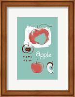 Framed Apple Study
