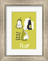 Framed Pear Study