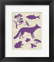 Framed Woodland Creatures I
