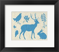 Framed Woodland Creatures IV