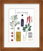 Framed Seasoning