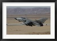 Framed Panavia Tornado of the Italian Air Force