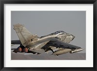 Framed Panavia Tornado taking off