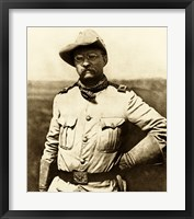 Framed Colonel Theodore Roosevelt