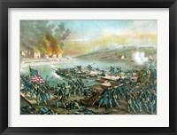 Framed Battle of Fredericksburg