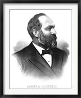 Framed James A. Garfield