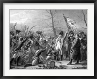 Framed Return of Napoleon from Elba