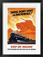 Framed Tanks Don't fight in Factories!