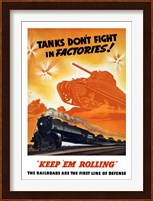 Framed Tanks Don't fight in Factories!