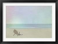 Framed Serene Beach