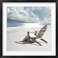 Framed Solitary Beach Chair