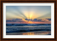 Framed Radiant Dawn