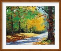 Framed Vibrant Autumn