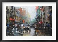 Framed Montreal Rain