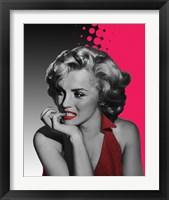 Framed Marilyn Pink