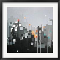 Monochrome XII Framed Print