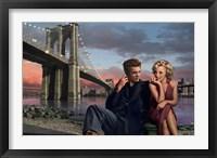 Framed Brooklyn Nights