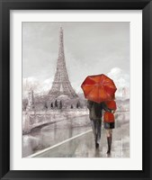 Framed Couple in Paris