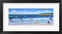 Framed Hot Dogs Surf