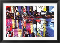Framed Times Square - Colors