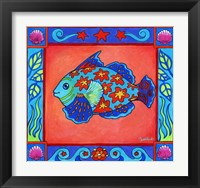 Framed Mosaic Fish