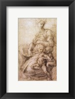 Framed Virgin and Child with the infant Baptist, c.1530