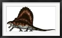 Framed Dimetrodon, a Synapsid that was an Apex Pradator