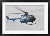 Framed Bolkow Bo-105 Liaison Helicopter of the German Army