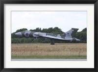 Framed Avro Vulcan Bomber of the Royal Air Force