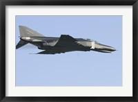 Framed F-4F Phantom of the German Air Force in flight