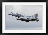 Framed French Air Force Mirage 2000C Fighter Jet