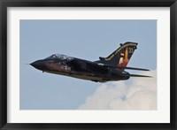 Framed German Air Force Tornado aircraft