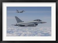 Framed German Eurofighter Typhoon Jets