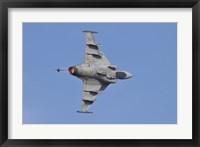 Framed Hungarian Air Force Saab JAS-39 Gripen