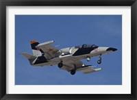 Framed L-39ZA Albatros Used as a Threat Simulation Aircraft with a FLIR Turret