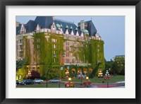 Framed Empress Hotel, Victoria, British Columbia