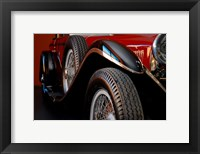 Framed Mercedez - Benz 1929