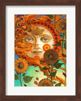 Framed Autumn Sun