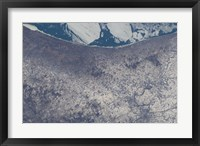 Framed Satellite View of South Bend, Indiana