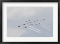 Framed Snowbirds 431 Royal Canadian Air Force