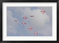 Framed Snowbirds of the Royal Canadian Air Force