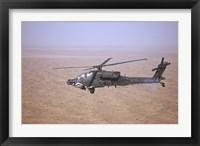Framed AH-64D Apache Longbow