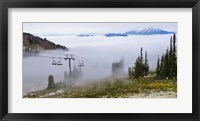 Framed British Columbia, Chairlift on Whistler Mountain