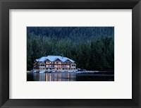 Framed King Pacifci Lodge, British Columbia, Canda