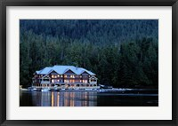 Framed King Pacifci Lodge, British Columbia, Canda