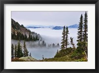 Framed British Columbia, Whistler Mountain, Clouds